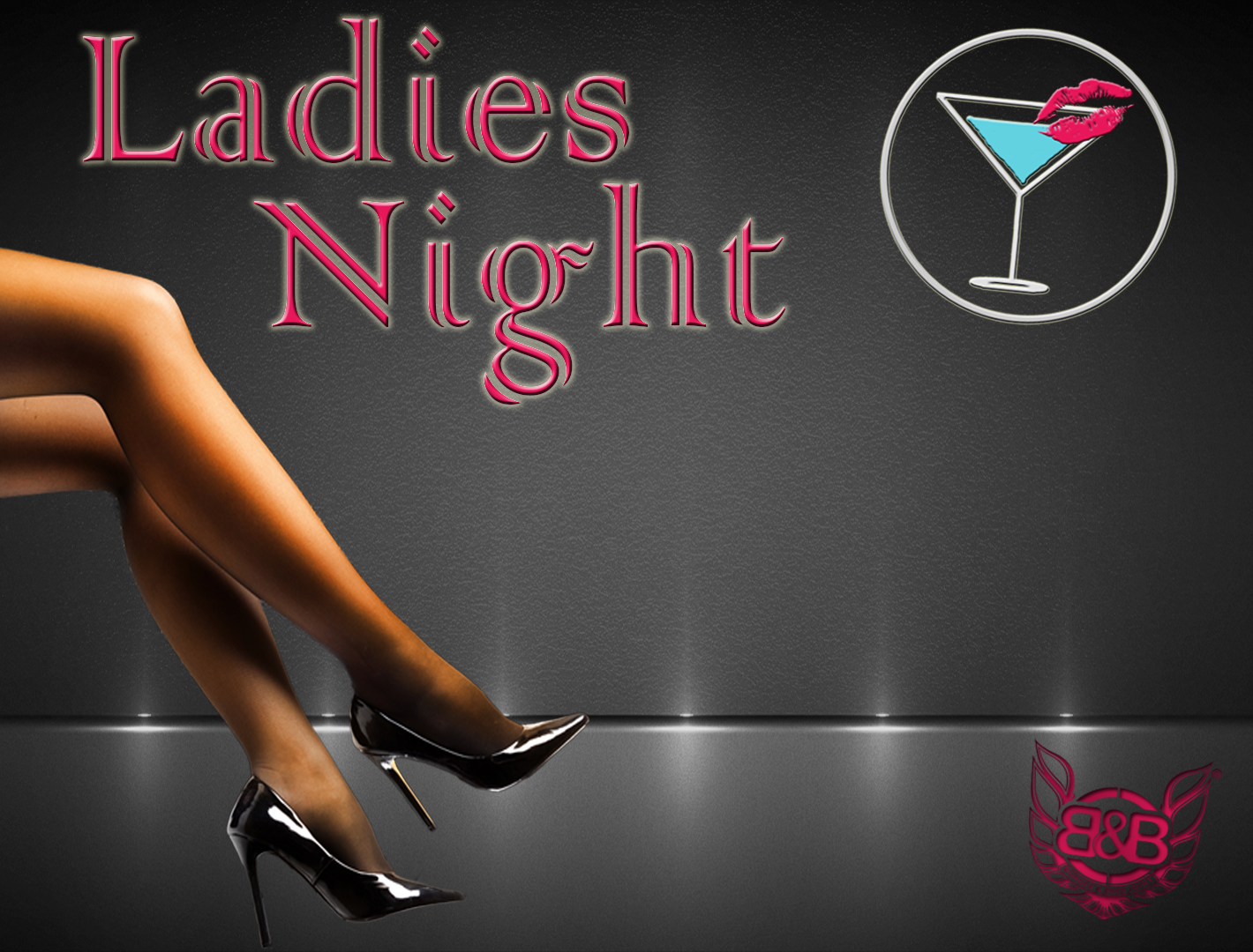 Ladies Drink For $1</br>7pm - Close</br> (*$1 drinks are select wine & champagne only)